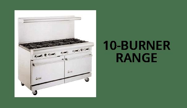 10 Burner Range