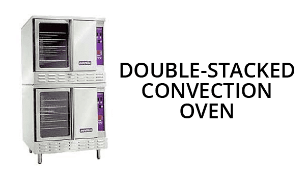 Double Stacked Convection Oven